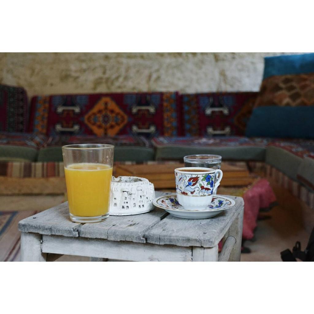 Turkish coffee amp orange juice