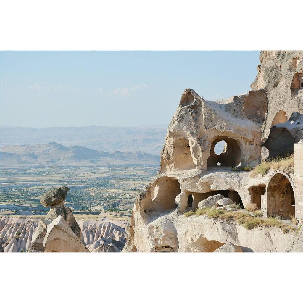 uhisar Cappadoce kapadokya cappadoccia turkey turquie vsco vscocam vscotravel landscapehellip