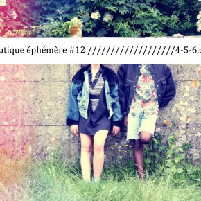 LA BOUTIQUE EPHEMERE #12