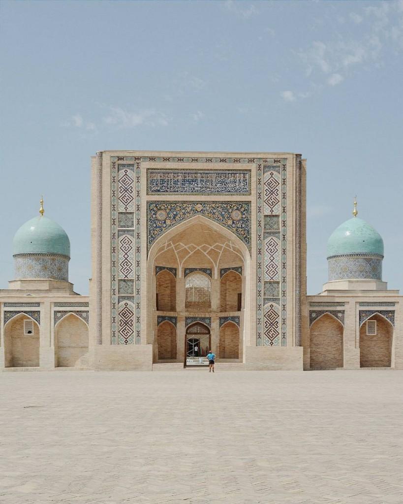 Hier ctait la visite de la capitale ouzbeke avec danshellip