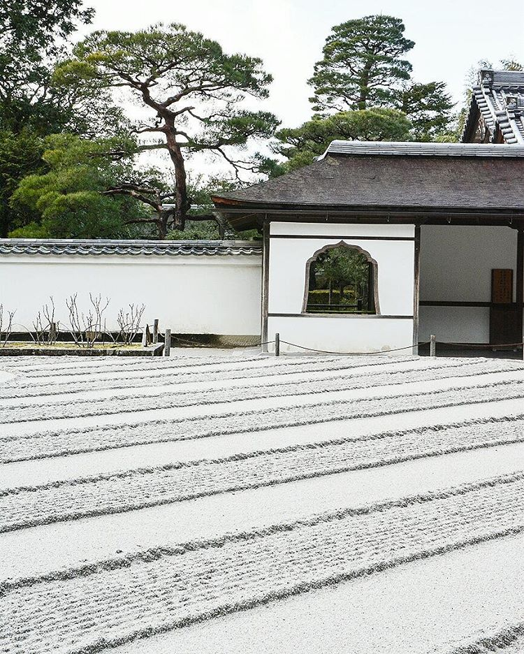 The silver pavilion in Kyoto is my favorite temple Ihellip