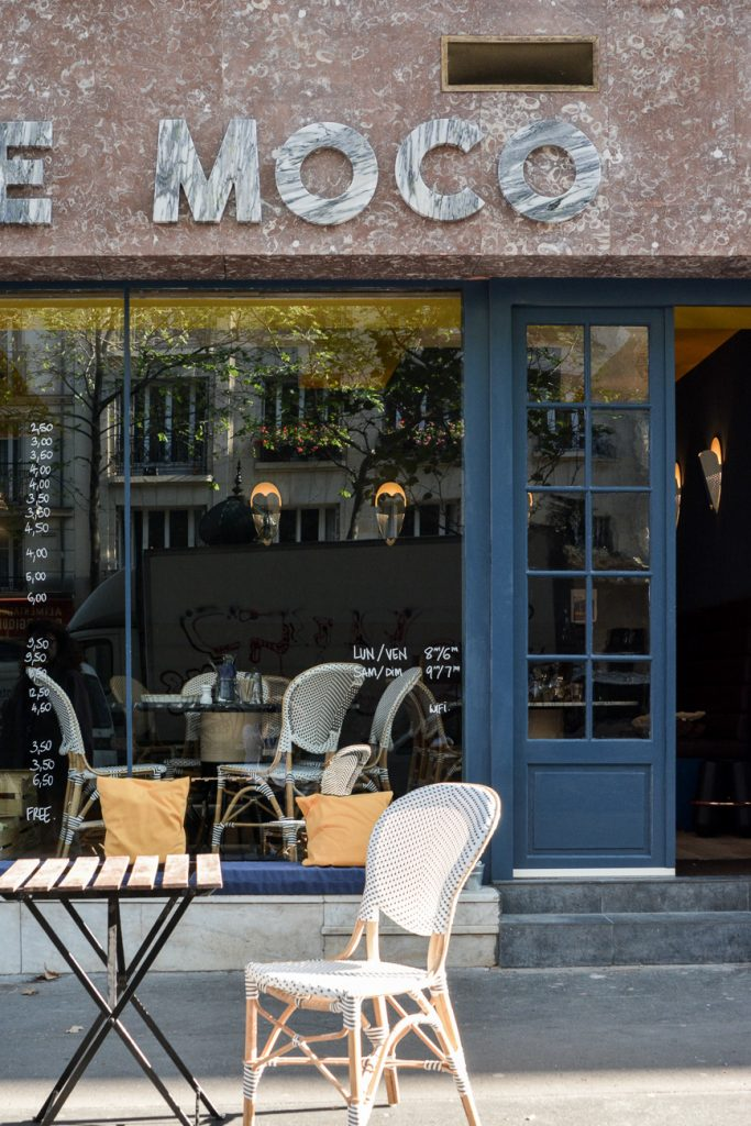 cafe moco restaurant paris