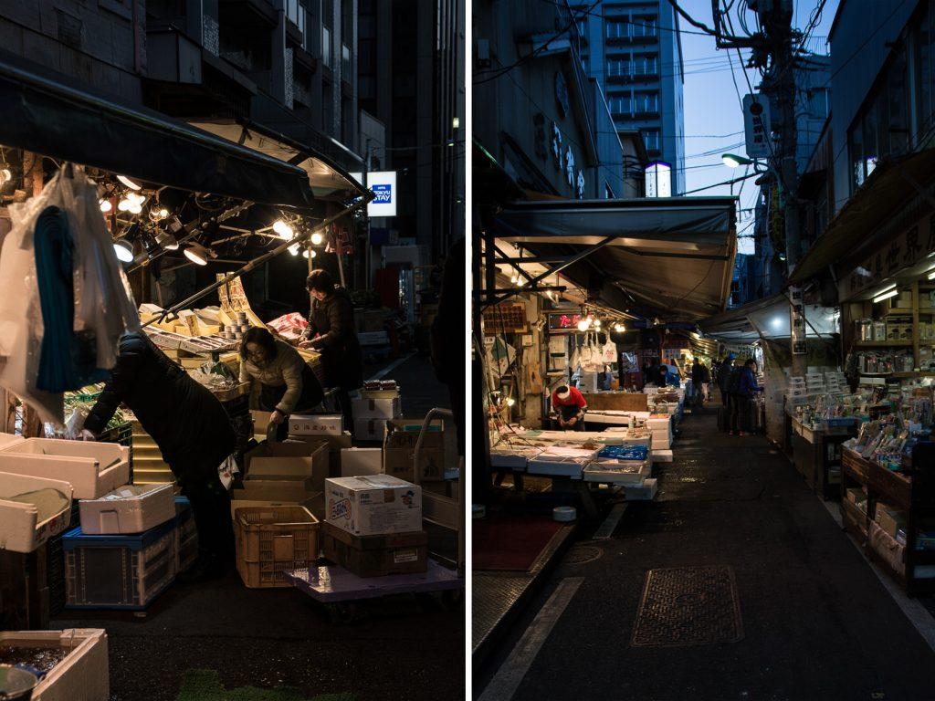 voyage tokyo encheres au thon au tsukiji market