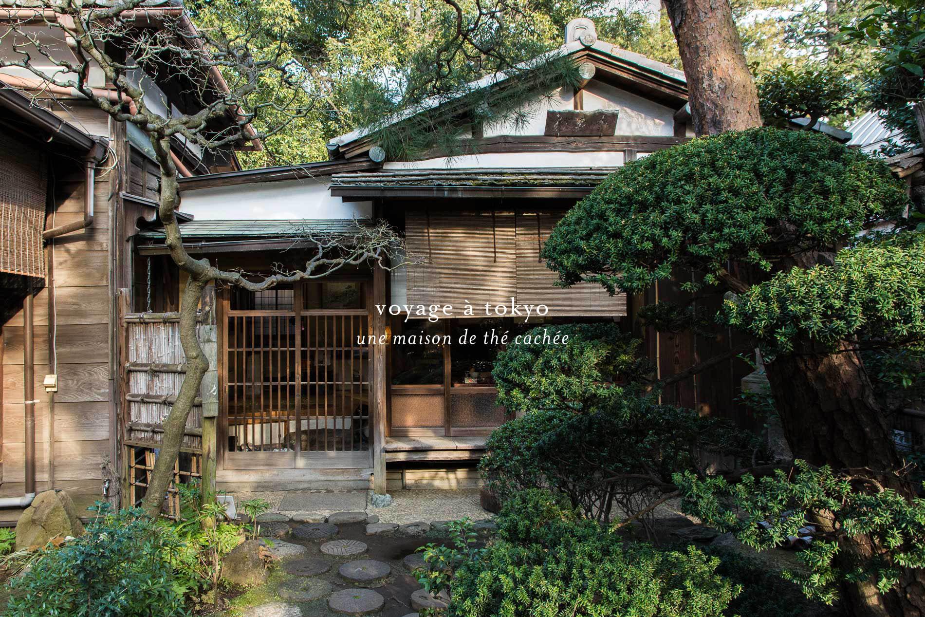 kosoan  la maison traditionnelle de th u00e9 cach u00e9e en plein tokyo le poly u00e8dre