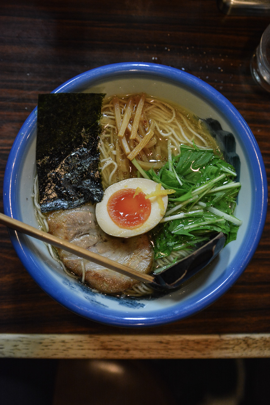 Afuri, un des meilleurs ramen de Tokyo