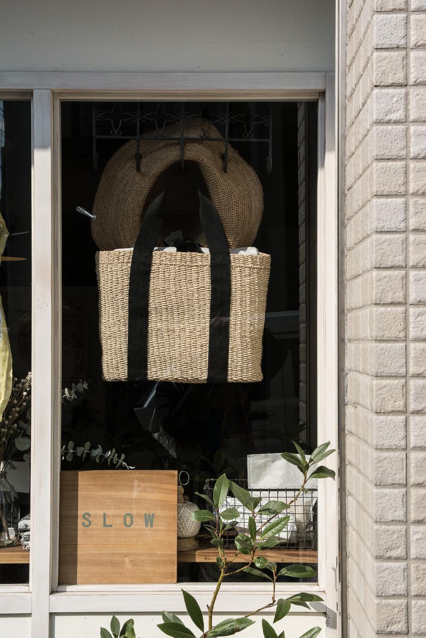 slow, une adresse shopping dans le quartier de yanaka à tokyo