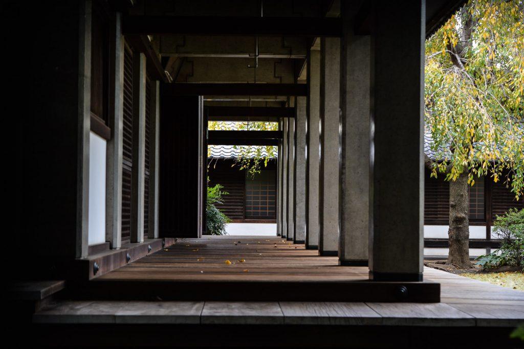 le temple Tenno-ji dans le quartier de Yanaka à Tokyo