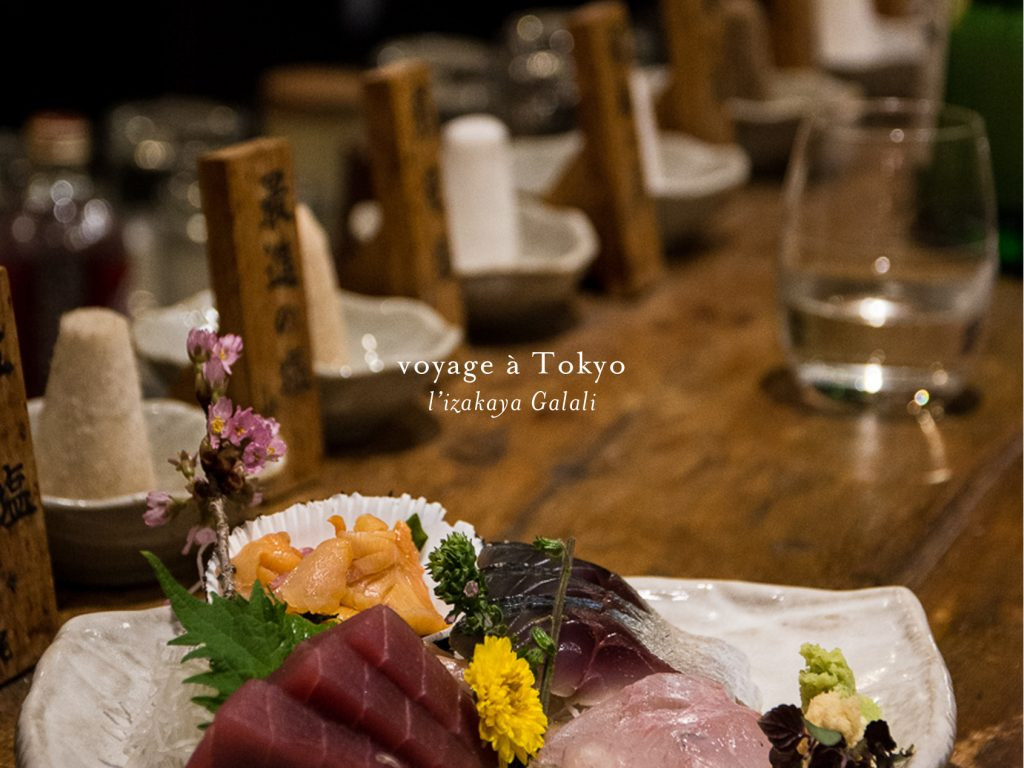 l'izakaya Galali à Tokyo
