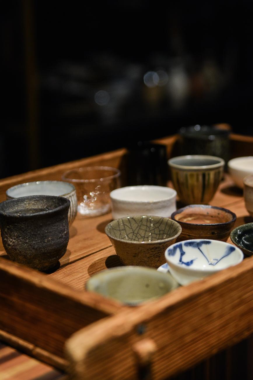 Le bar à saké SakeBozu à Tokyo