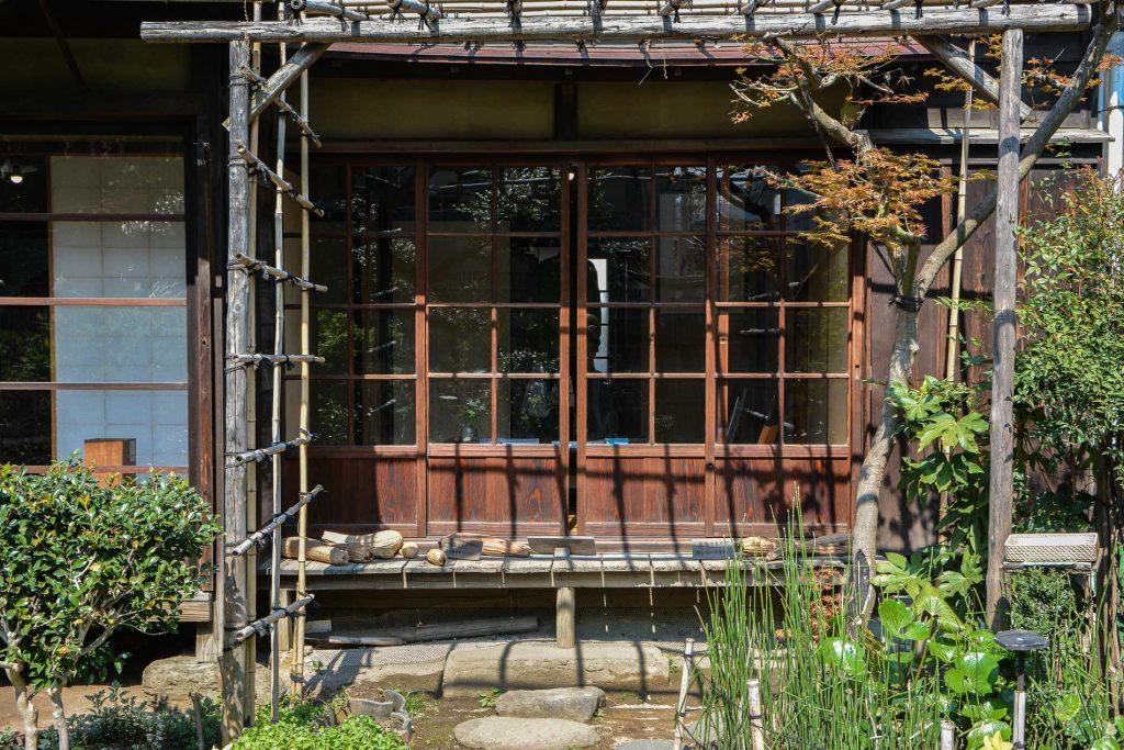 la maison shikian dans le quartier de Yanaka à Tokyo