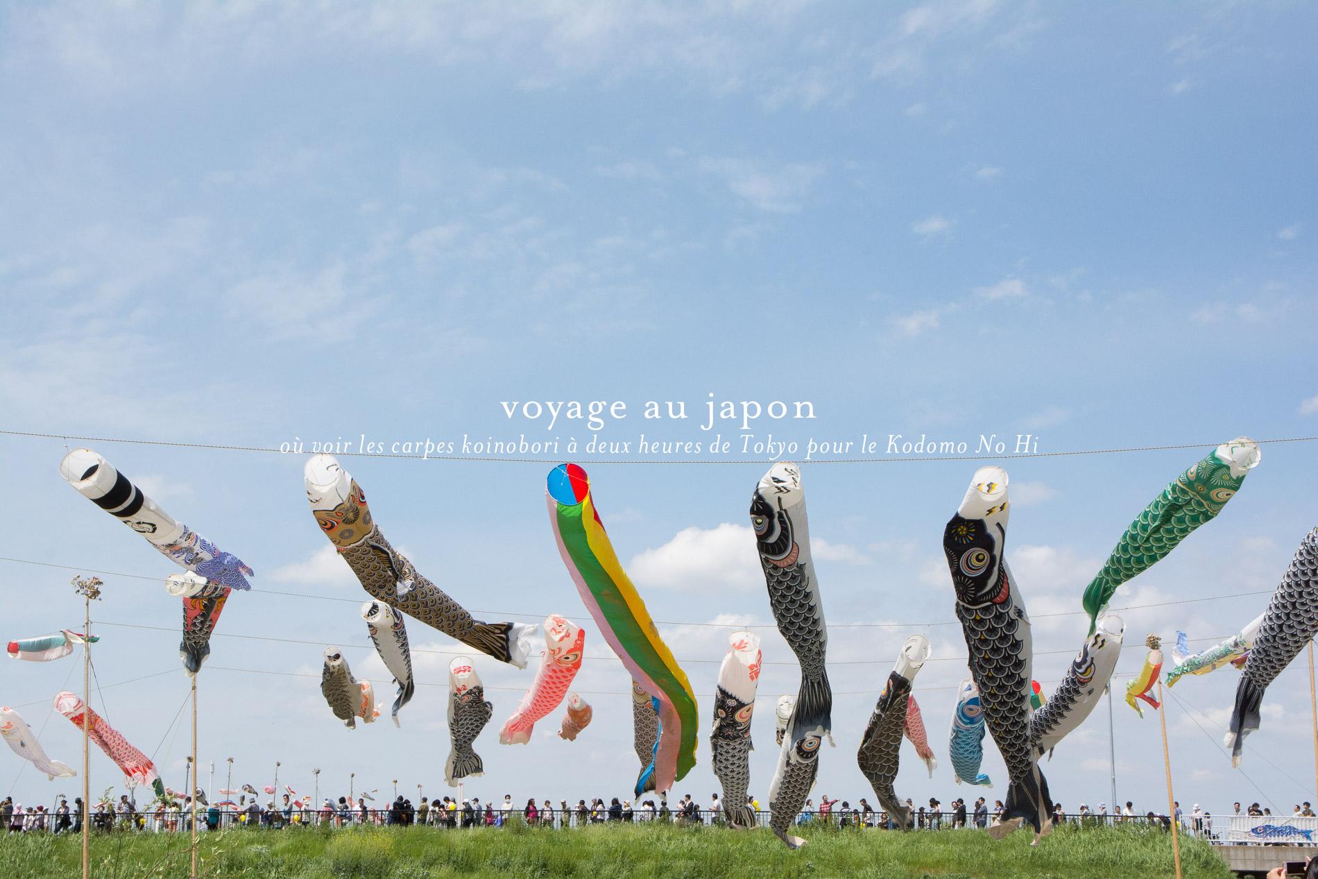 voyage au japon 3 endroits autour de tokyo o voir des carpes pour le kodomo no hi le poly dre. Black Bedroom Furniture Sets. Home Design Ideas