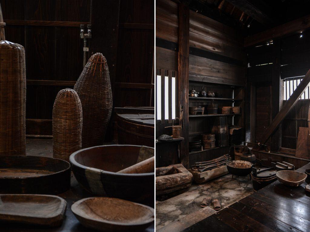 voyage dans le village d'Ogimachi dans les Alpes Japonaises au Japon dans la région de Shirakawa-Go