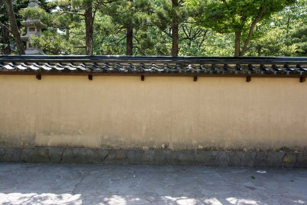 le quartier des samouraïs Nagamachi à Kanazawa dans les Alpes Japonaises