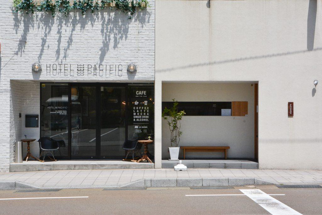 L'hôtel Pacific à Kanazawa, dans les alpes japonaises