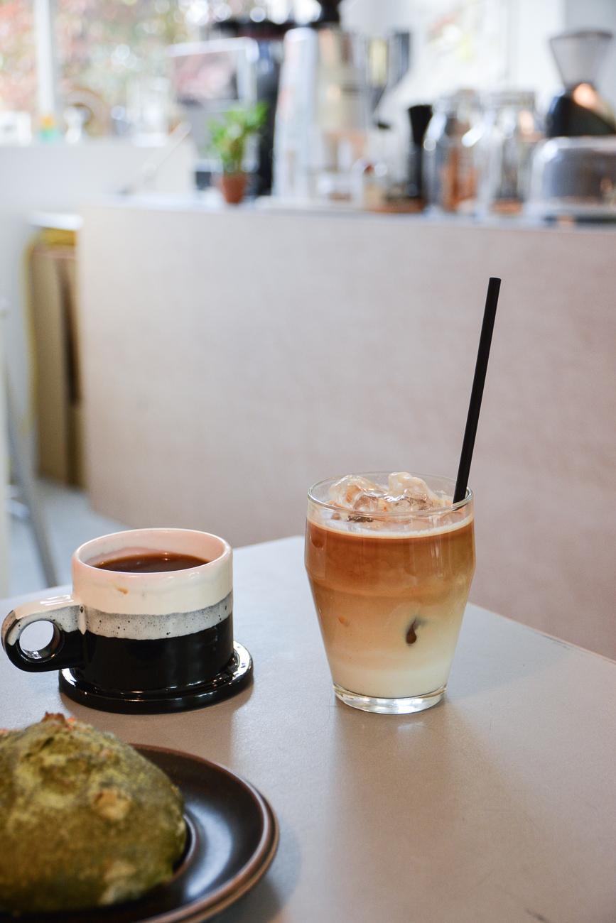 le coffee shop Tori à Kanazawa dans les Alpes Japonaises