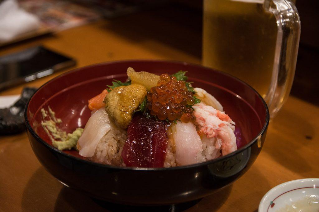 le restaurant de sushi Kourin-Sushi à Kanazawa, dans les Alpes Japonaises