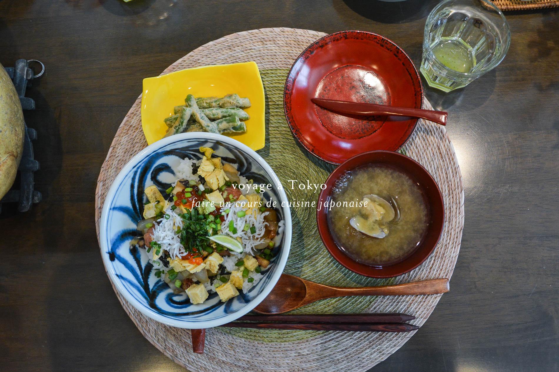 faire un cours de cuisine japonaise tokyo le poly drele poly dre. Black Bedroom Furniture Sets. Home Design Ideas