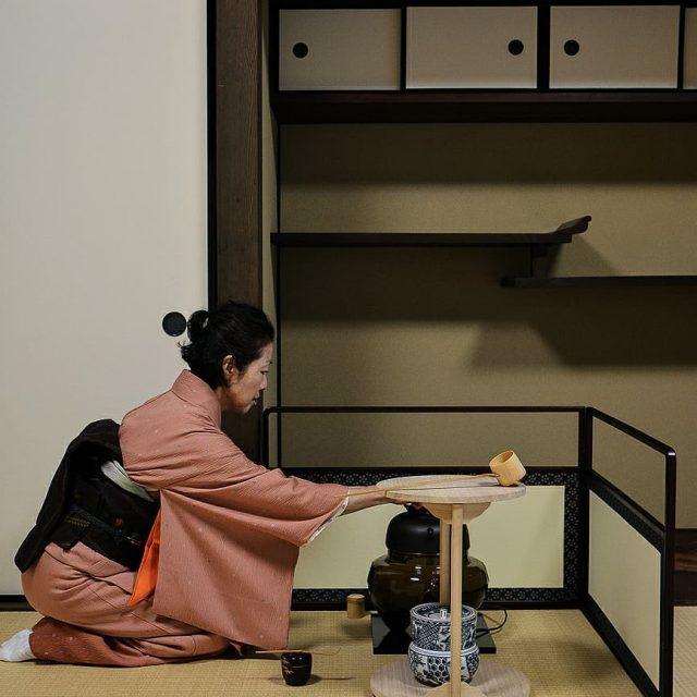 Cette semaine  Tokyo jai pu participer  une crmoniehellip