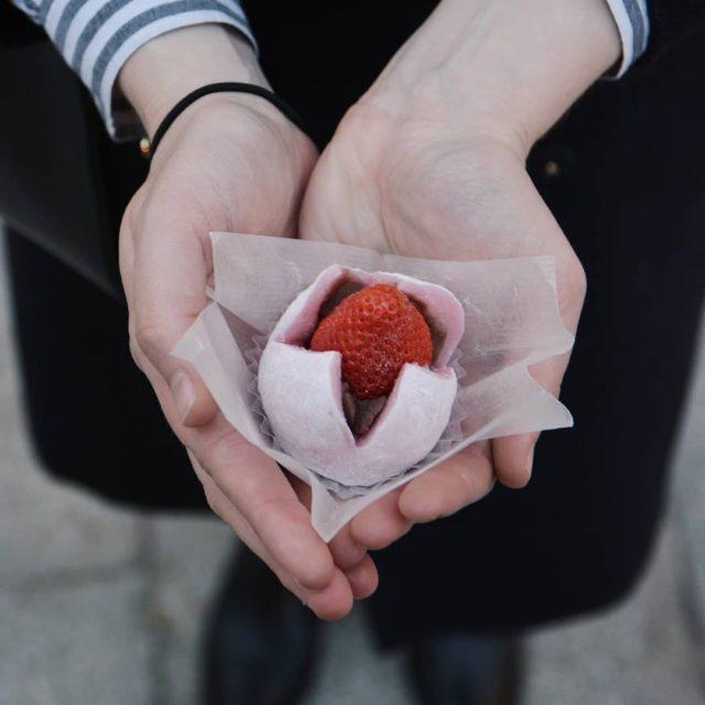 Lichigo Daifuku est un dessert que lon retrouve beaucoup auhellip