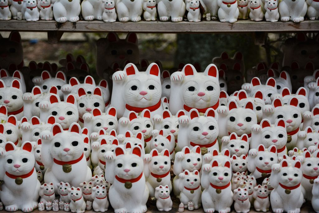 Le temple des chats, Gotoku-ji en plein Tokyo au Japon