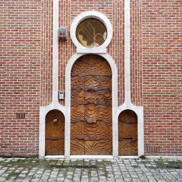 La plus belle porte que jai vue  Gand hellip
