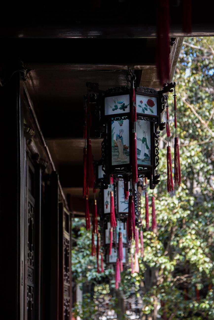 voyage à shanghai, le jardin yuyuan
