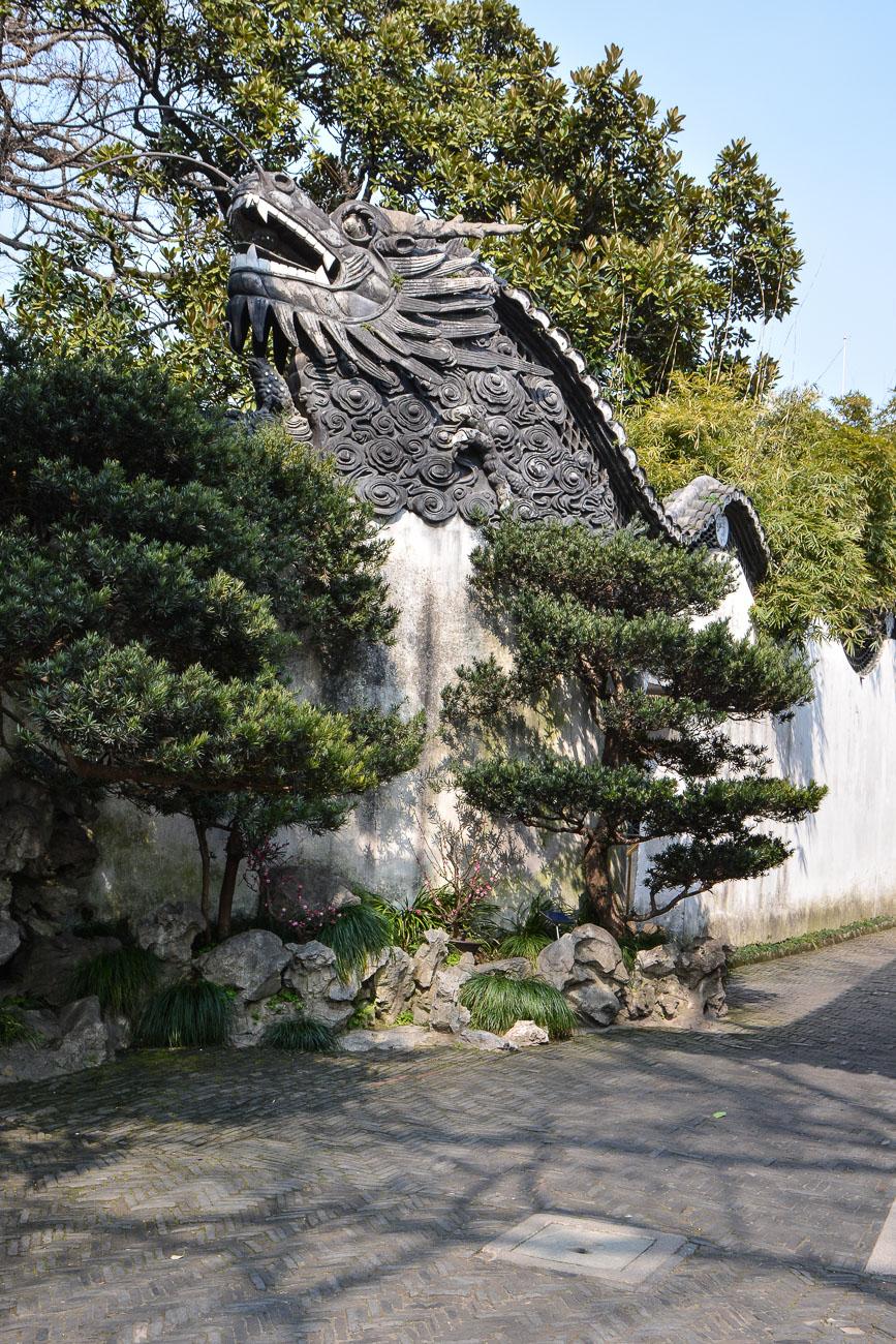 Le jardin yuyuan une merveille de shanghai le poly dre for Jardin 16eme