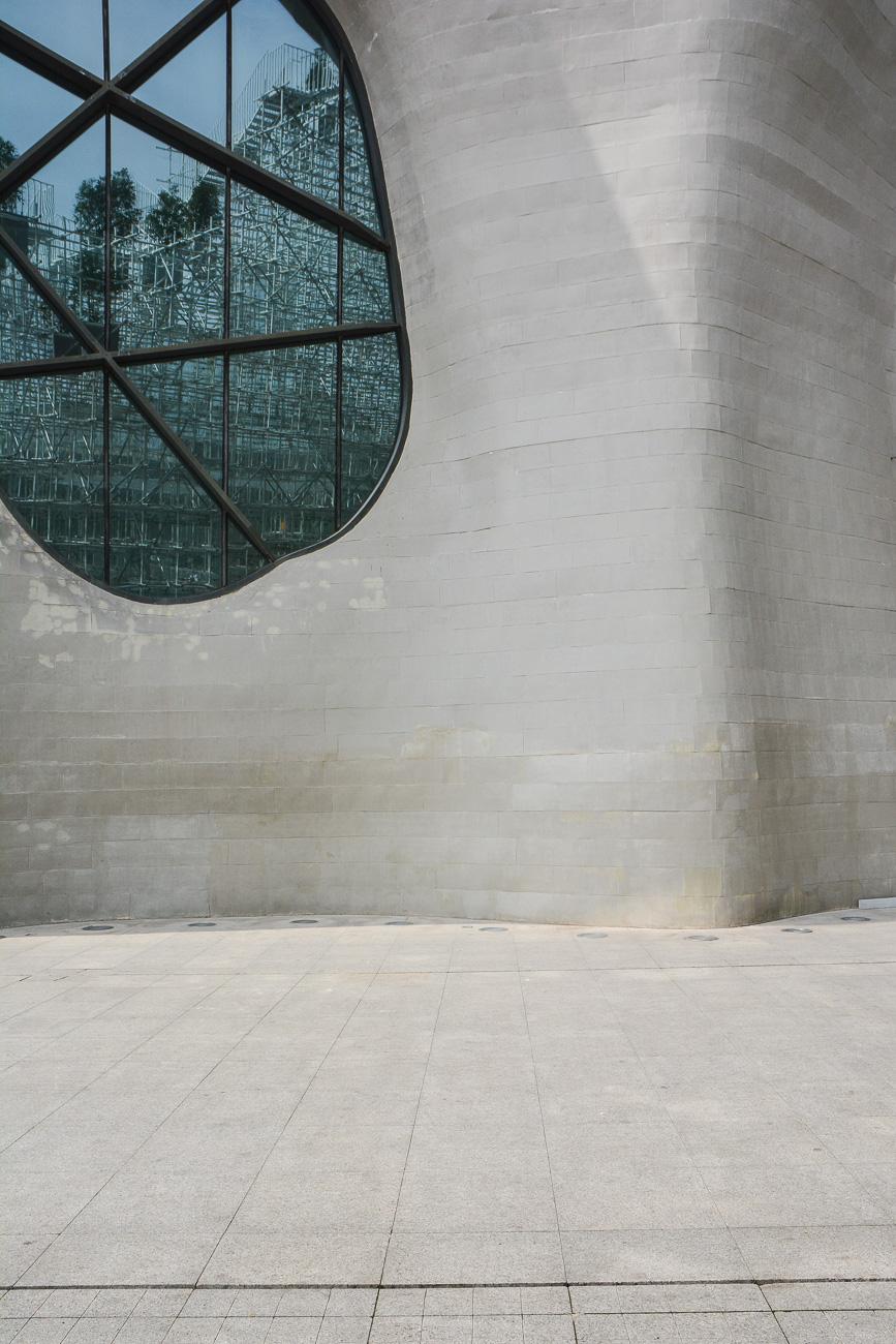 Envision Pavilion & himalayas art museum à Shanghai, architecture