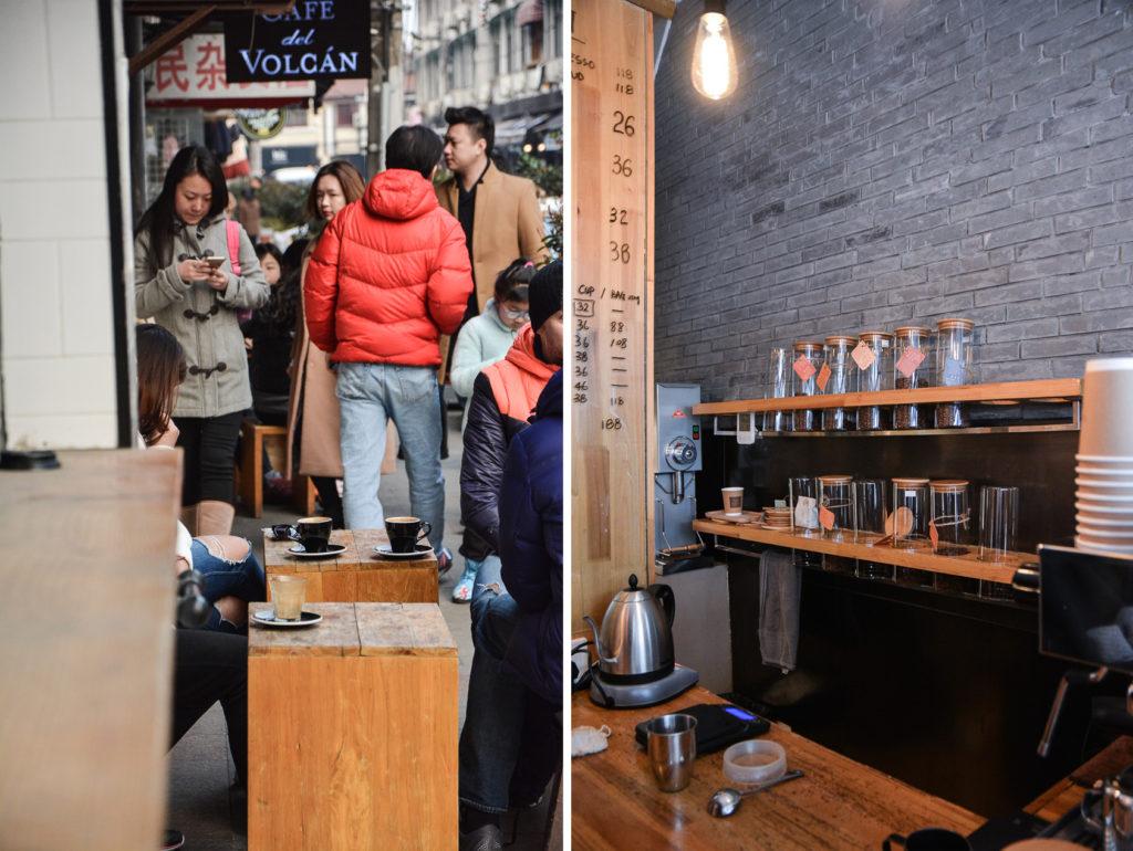 cafe del volcan à shanghai