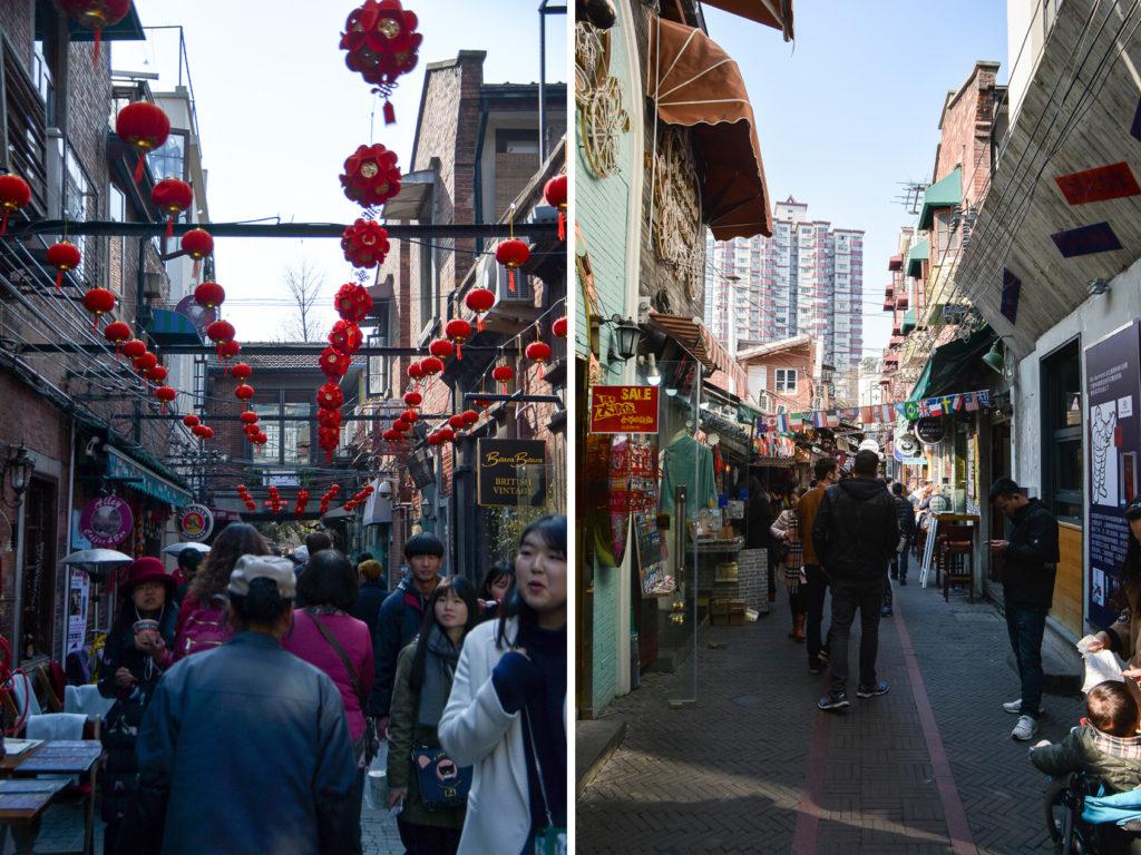 Tianzifang à shanghai
