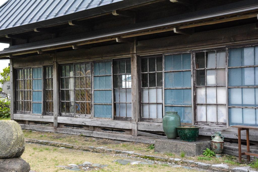 la maison de café edomons à Hama Kanaya tout près de Nokogiriyama dans la prefecture de Chiba au Japon