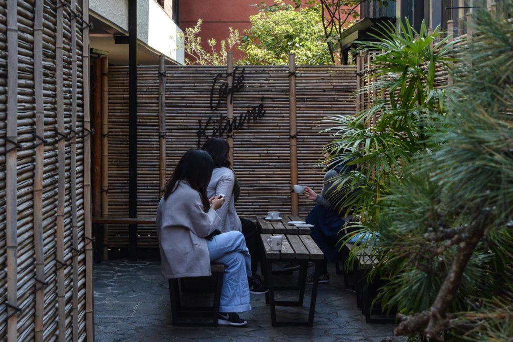 le coffeeshop cafe kitsune à tokyo au Japon