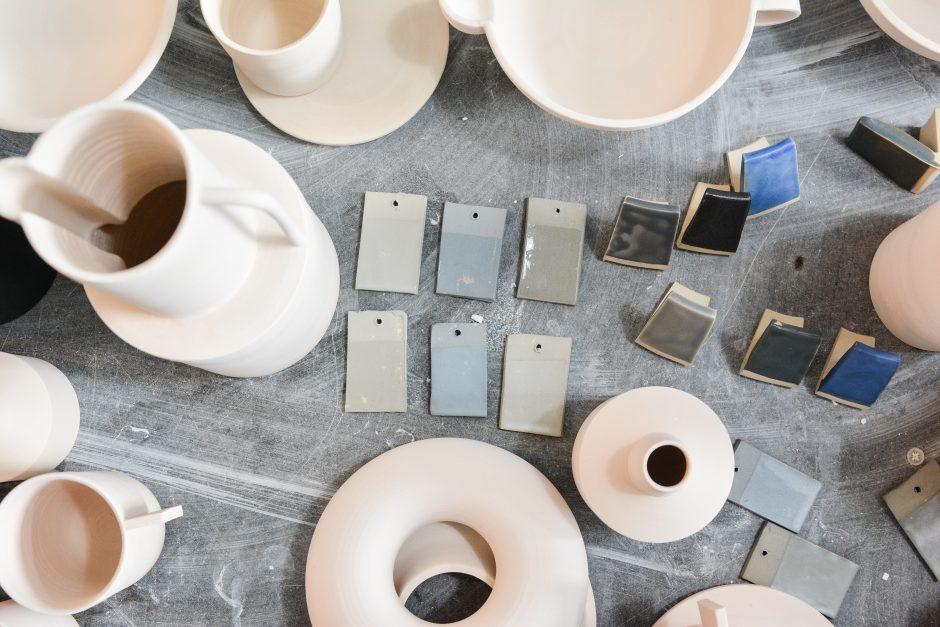 la céramique en france, selection pour la botique en ligne brutal ceramics par la polyedre