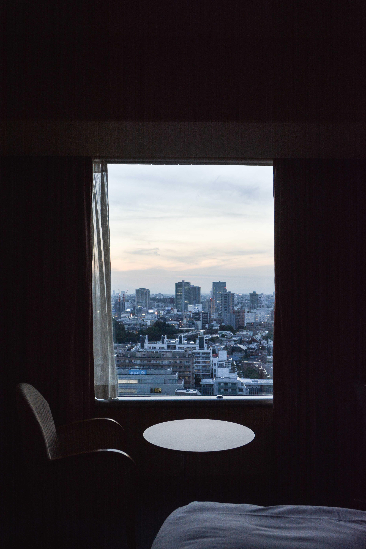 voyage au japon, à tokyo, au shinagawa prince hotel