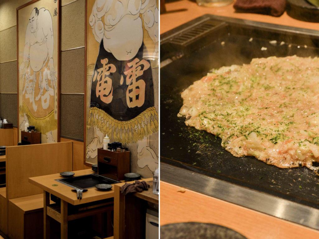 voyage au japon, à Tokyo avec le Ryogoku Edo Noren