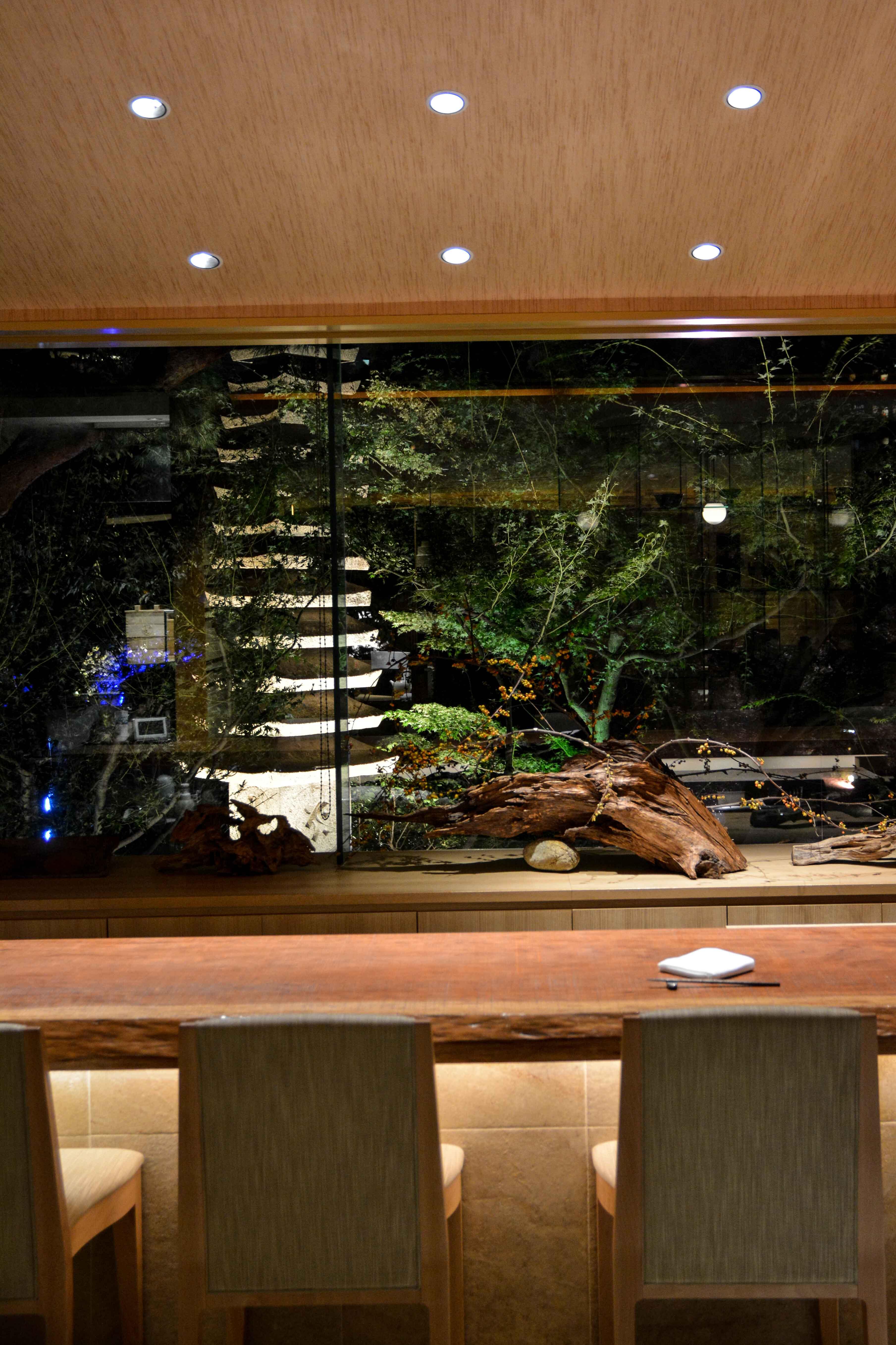 Le Jardin voyage au japon, à Tokyo avec le jardin Happo-en et son restaurant...