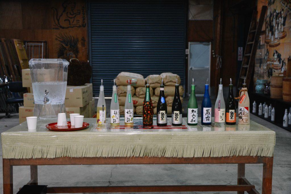 visite de la brasserie de saké kubota dans la prefecture de Fukui pendant un voyage au Japon