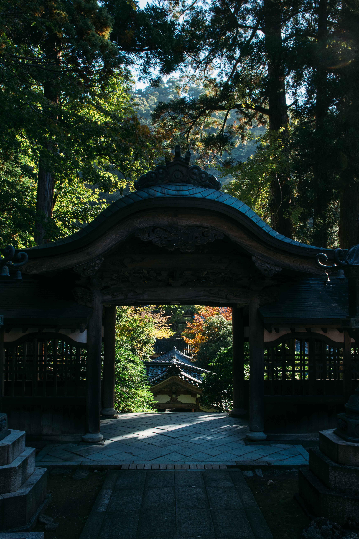 le temple eiheji temple dans la prefecture de Fukui au Japon