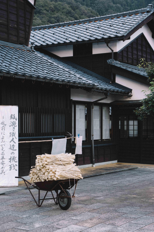 Echizen, berceau du papier washi au Japon, Fukui