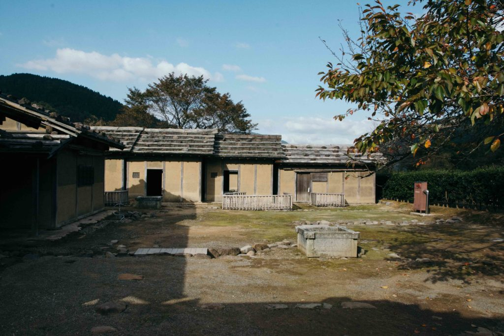 Les ruines historiques du clan Asakura à Ichijodani, Fukui, Japon