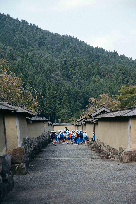 Les ruines historiques du clan Asakura à Ichijodani, Fukui, JaponLes ruines historiques du clan Asakura à Ichijodani, Fukui, Japon