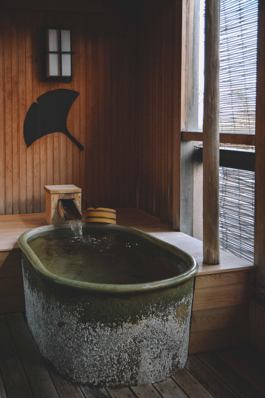 profiter des onsens de awara onsen dans la prefecture de fukui au japon
