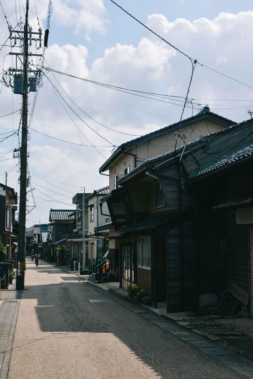 visiter la vieille ville Mikuni Minato dans la prefecture de Fukui au Japon