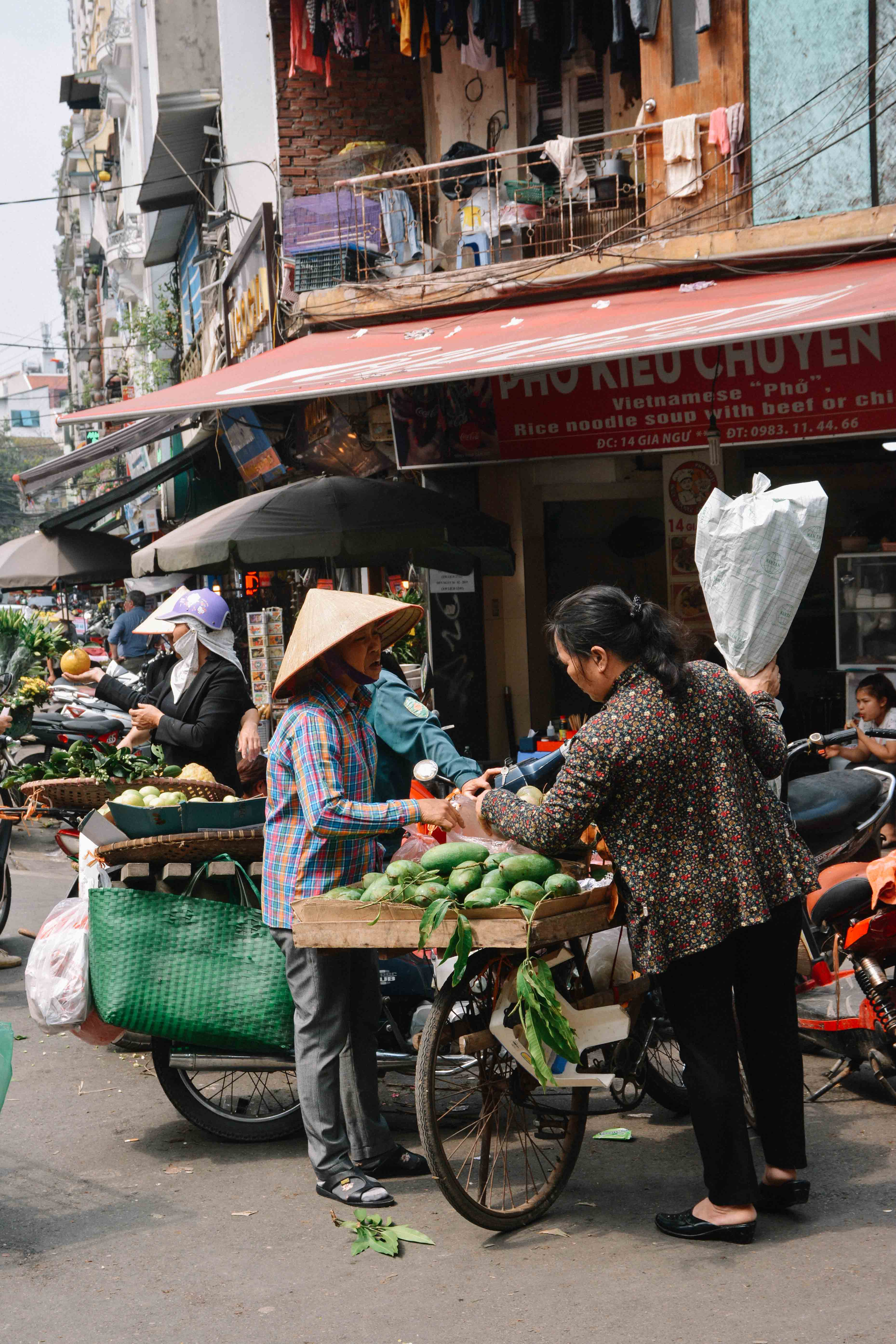 le quartier des 36 corporations à Hanoi, au Vietnam
