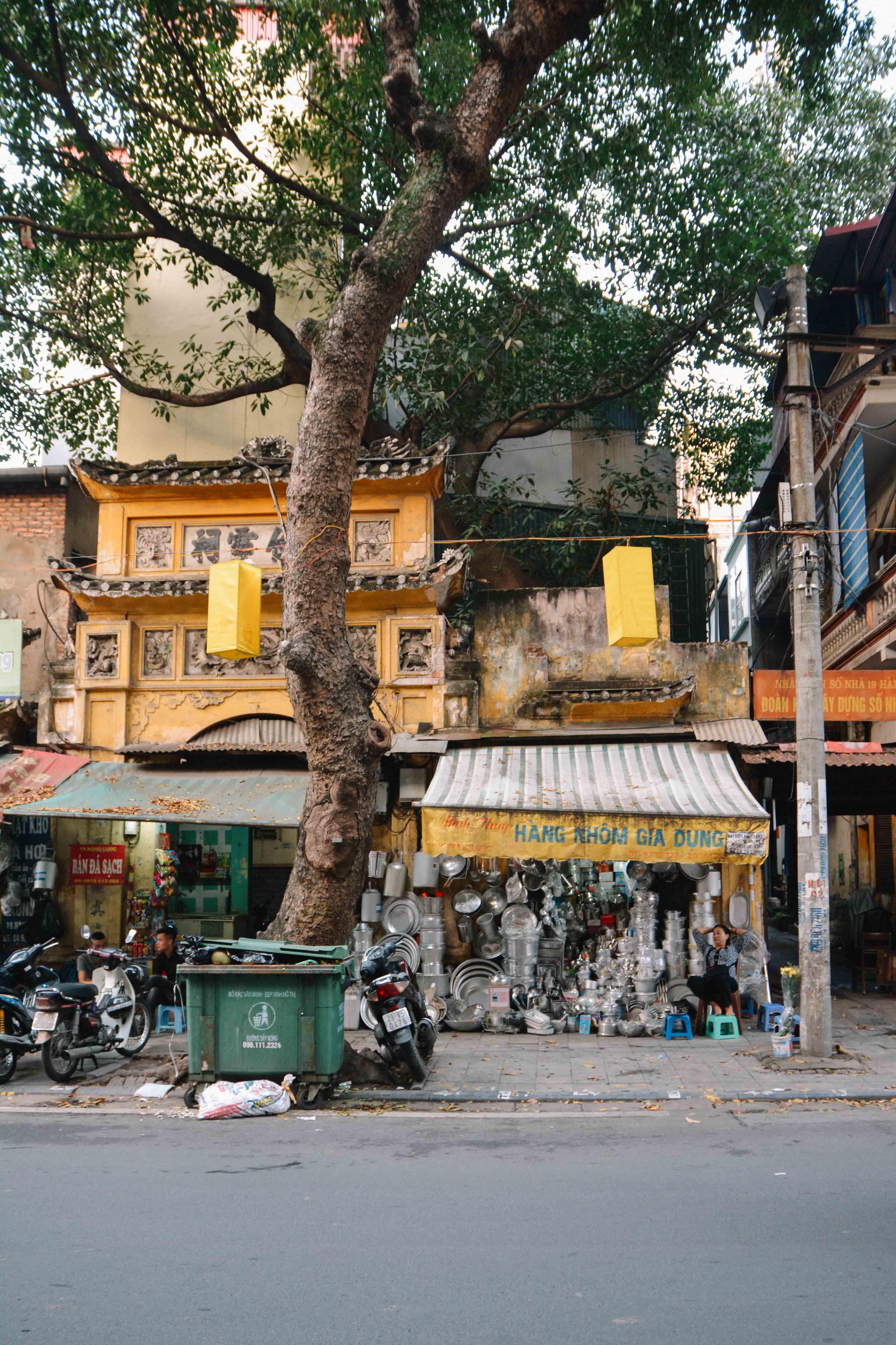 le quartier des 36 rues à Hanoi, au Vietnam