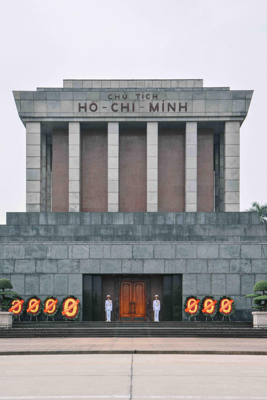 le mausolée d'Ho Chi Minh à Hanoi au Vietnam