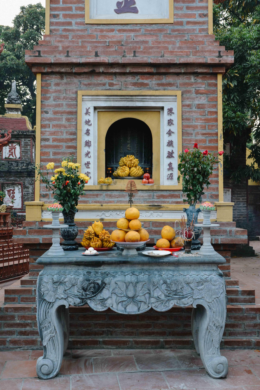 La pagode Tran Quoc à Hanoi au Vietnam