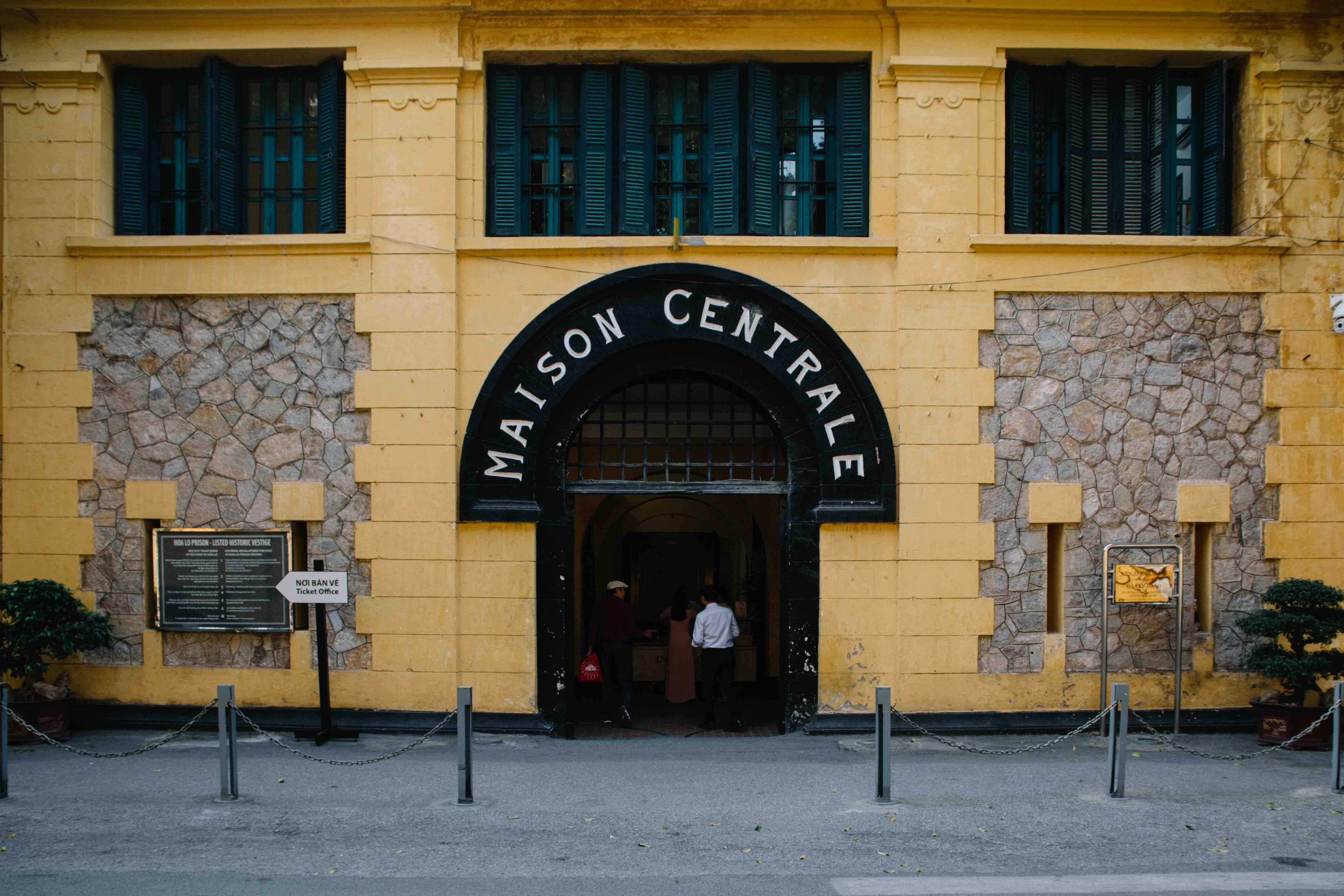 prison de Hanoi, vietnam