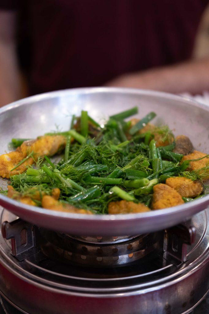 Cha Ca Thang Long, restaurant à Hanoi au Vietnam