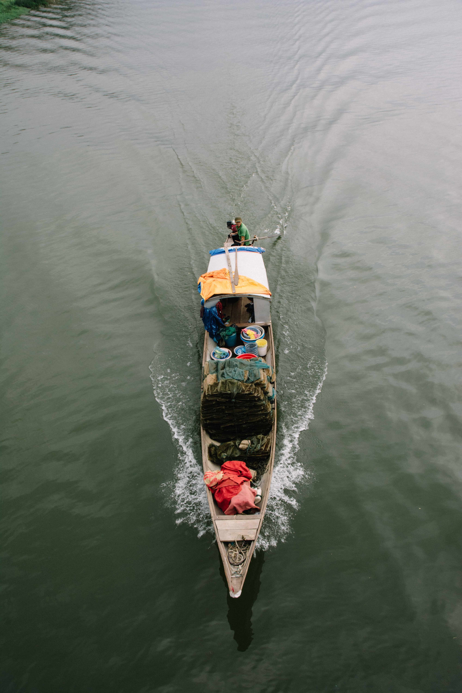 la rivière des parfums à Hué au Vietnam